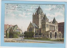 BOSTON  -  TRINITY  CHURCH  -  1905  - - Boston