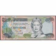 TWN - BAHAMAS 68 - ½ Dollar L.2000 (2001) Prefix A UNC - Bahamas