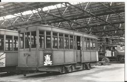 Photo - Tramway - Nantes - Interieur Du Dépot Grande Remorque - Trains