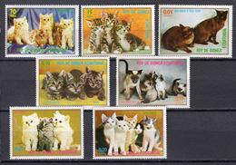 1976 - GUINEA EQUATORIALE  - Catg.. Mi. 1016/1022 - NH - (CW1822.6) - Guinea Equatoriale