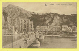 """* Dinant (Namur - Namen - La Wallonie) * (Nels, Série 33, Nr 10) Le Pont, L""""église Et La Citadelle, Canal, Bateau, Rare - Dinant"""