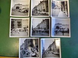 RUES DE VILLENEUVE LOT FANFARE JEUNES VILLENEUVOIS ET MAJORETTES DEFILE RUE PARIS ET + - Photographs