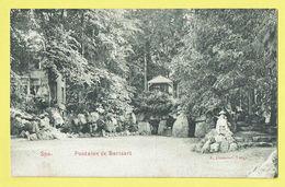 * Spa (Liège - La Wallonie) * (E. Dumont) Fontaine De Barisart, Source, Bois, Animée, Rare, Unique, TOP - Spa