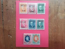 ALBANIA 1929 - 34° Anniversario Nascita Re Zogu 1° Nn. 202/09 Nuovi * (202 Piega - Non Calcolato) + Spese Postali - Albania