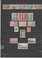 18 TIMBRES COTE D'IVOIRE OBLITERES & NEUFS** & * DE 1913 à 1976 - Ivory Coast (1960-...)