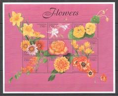 D455 TANZANIA FLORA NATURE PLANTS FLOWERS 1KB MNH - Végétaux