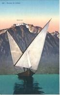 CPA Suisse - Vaud * Barque Du Lac Léman * - VD Vaud