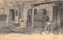 Etranger - Thème Cordonniers Vanniers / 06 - Fabricants De Couffins - Cartes Postales