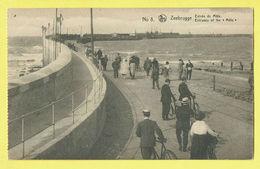 * Zeebrugge (Kust - Littoral) * (Nels, Edition J. Revyn, Nr 8) Entrée Du Mole, Animée, Mer, Sea, Jetée, Rade, Pier, Port - Zeebrugge