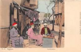 Etranger - Thème Cordonniers Vanniers / 10 - Egypte - Cordonniers - Cartes Postales