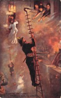 Etranger - Thème Pompiers / 02 - Fighting The Flames - Cartes Postales