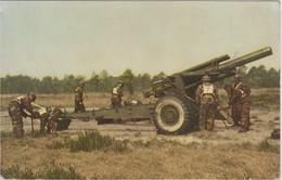 Mise En Batterie D'un Obusier De 155 Mm - Equipment