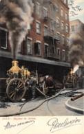 Etranger - Thème Pompiers / 03 - Engines In Action - Cartes Postales