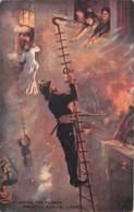 Etranger - Thème Pompiers / 05 - Fighting The Flames - Postcards