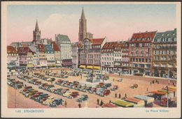 La Place Kléber, Strasbourg, C.1940s - CAP CPSM - Strasbourg