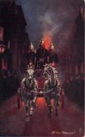 Etranger - Thème Pompiers / 07 - To The Rescue ! - Cartoline