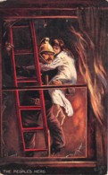 Etranger - Thème Pompiers / 09 - The People's Hero - Cartes Postales