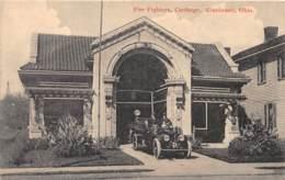 Etranger - Thème Pompiers / 10 - Fire Fighters - Carthage - Cincinnati - Ohio - Cartoline