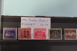 1941     -   644  à  648 *        FONDATION  CHARLES  1er   COTE   :   7,50€ - 1918-1948 Ferdinand, Charles II & Michael