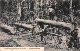Océanie / 09 - Frères Coadjuteurs à La Scierie - Nouvelle Guinée - Cartes Postales