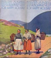 Brochure Dépliant Faltblatt Toerisme Tourisme - Touring In Ireland 1938 - Pub Condensed Milk Co. Limerick - Dépliants Touristiques