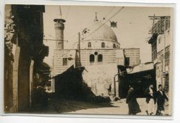 SYRIE CARTE PHOTO DAMAS Quartier Ville Mosquée Cachet Photographe  1920   /DS 2014 - Syrie