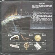 D463 MALDIVES SHIP TITANIC 1KB MNH - Boten