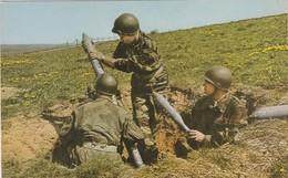 Mortier De 81 Mm En Action - Equipement