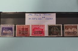 1941     -   656F  à  656L *        PRISE  DE  CHISINAU      COTE   :  20,00€ - 1918-1948 Ferdinand, Charles II & Michael
