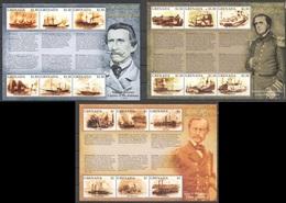 D464 GRENADA SHIPS NAVAL HISTORY OF THE AMERICAN CIVIL WAR 3KB MNH - Boten
