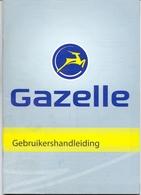 Brochure Handleiding Onderhoud En Reparaties Voor Fietsen Gazelle - Machines