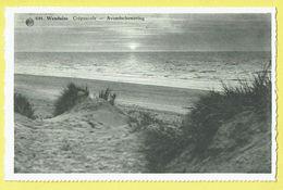 * Wenduine - Wenduyne (Kust - Littoral) * (Albert, Nr 644) Crépuscule, Avondschemering, Beach, Plage, Dunes, Sunset - Wenduine
