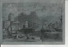 LIVERPOOL DOCK    1833/1881  Plaque Aluminium Pour Tirage Lithigraphique - Autres Collections