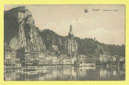 * Dinant (Namur - Namen - La Wallonie) * (Nels, Ern Thill) Citadelle Et église, Bateau, Boat, Quai, Canal, Rare, Pont - Dinant