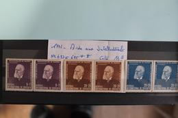 1942     -   693  à  695 **       AIDE  INTELLECTUELLE  AUX  PRISONNIERS  DE  GUERRE    COTE   :  15,00€ - 1918-1948 Ferdinand, Charles II & Michael
