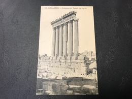 124 - BAALBECK Colonnes Du Temple De Jupiter - Liban