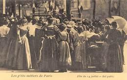 Paris - Les P'tits Métiers - Fête Du 14 Juillet - Bal Public - Cecodi N'P 168 - France