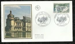 CHÂTEAU DE CHANTILLY . 21 JUIN 1969 . CHANTILLY . - FDC