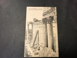 125 - BAALBECK Le Temple De Bacchus - La Colonne Brisée - Liban
