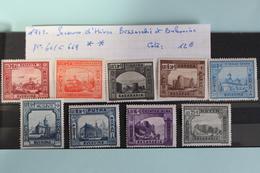 1941     -   661  à  669**       SECOURS  D  '  HIVER  POUR  LA   BESSARABIE  ET  BUCOVINE    COTE   :  12,00€ - 1918-1948 Ferdinand, Charles II & Michael