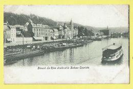 * Dinant (Namur - Namen - La Wallonie) * La Rive Droite Et Le Bateau Touriste, Boat, Péniche, Canal, Quai, Rare - Dinant