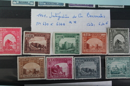1941     -   670  à  677A**       INTEGRATION  DE    LA   BESSARABIE     COTE   :  6,50€ - 1918-1948 Ferdinand, Charles II & Michael