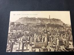 427 - ALEP Le Cimetiere De La Citadelle - Syrie