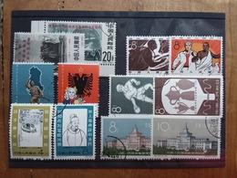 CINA - 6 Serie Complete Timbrate Anni '60 + Spese Postali - 1949 - ... Repubblica Popolare