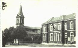 BIERWART   L' église Et L' école Communale Bierwart. - Eghezée