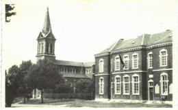 BIERWART   L' église Et L' école Communale Bierwart. - Fernelmont