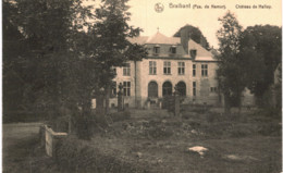 BRAIBANT   Château De Halloy. - Ohey