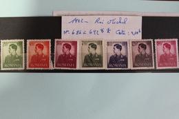 1942     -   686  à  692**       MICHEL   1ER    COTE   :  4,50€ - 1918-1948 Ferdinand, Charles II & Michael