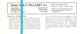 Pub Reclame Org. Knipsel Tijdschrift - Firma A & E. Pillaert - Woumen -  Ca 1960 - Publicités