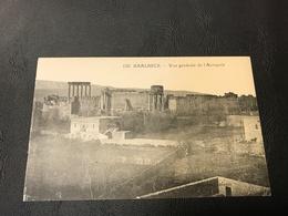 120 - BAALBECK Vue Générale De L'Acropole - Liban